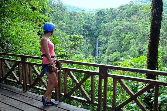 Zipline Over La Fortuna Waterfall - 7...