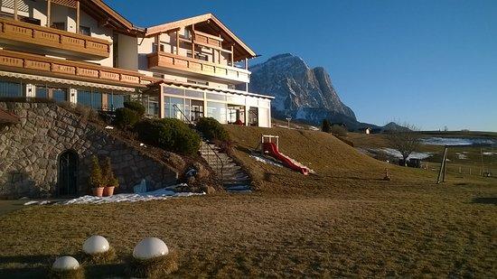 Castelrotto, Italië: Hotel Rosslaufhof, Kastelruth (BZ)