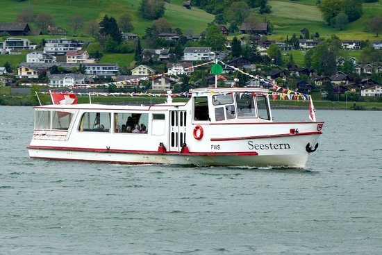 Canton of Obwalden, Szwajcaria: MS Seestern Sarnersee