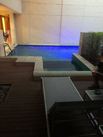 Our private jacuzzi