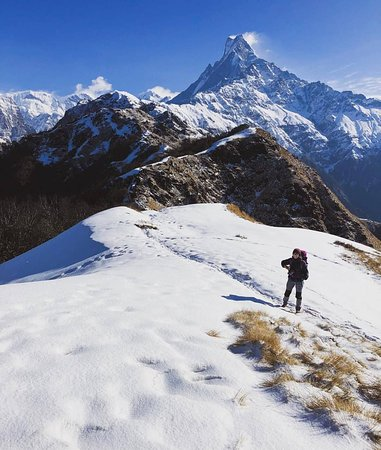 Chame, Nepal: Mardi Himal Trek