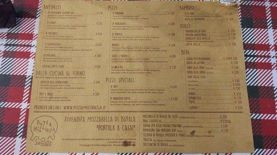 Pizza e Mozzarella Φωτογραφία
