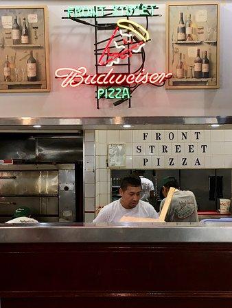 Pizza at Brooklyn!