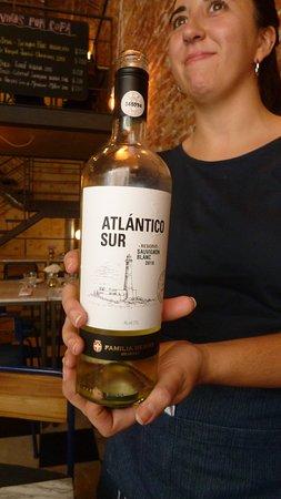 Jacinto cafe & restaurant: Vinho branco.