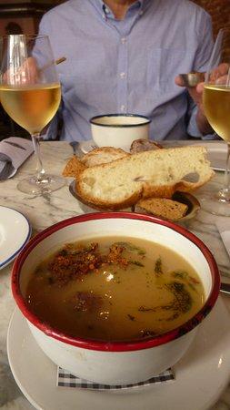 Jacinto cafe & restaurant: Sopa de abóbora.