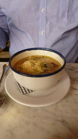 Jacinto cafe & restaurant: Sopa de abóbora com queijo.