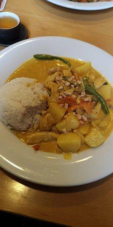 Schoenau im Schwarzwald, Niemcy: Thai curry and soup