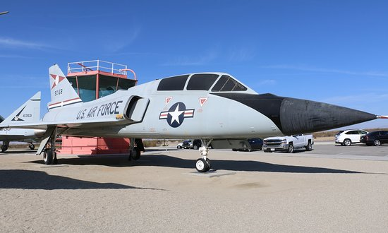 Edwards, CA: F-106B Delta Dart
