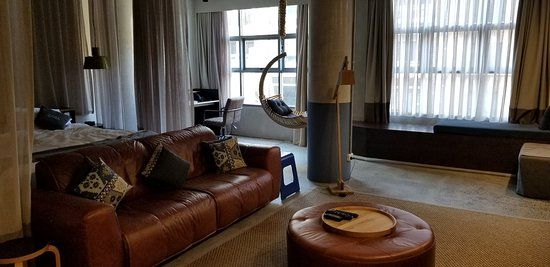Large, beautiful rooms, great service, great location