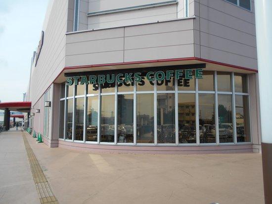 Starbucks Coffee Yotsukaidou Ito-Yokado Stores: 四街道のイトーヨーカドーのテナントでは一番目立っているかも