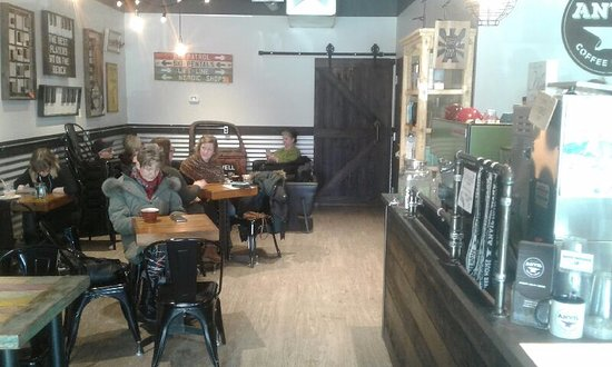 Anvil Coffee House: seating area