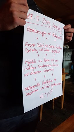 Albinen, Szwajcaria: Restaurant Godswärgjistubu