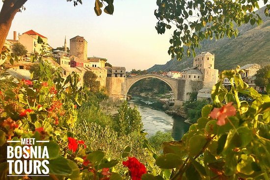 Woman in Mostar