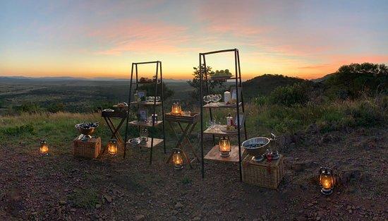 Phinda Private Game Reserve, Güney Afrika: Sundowners