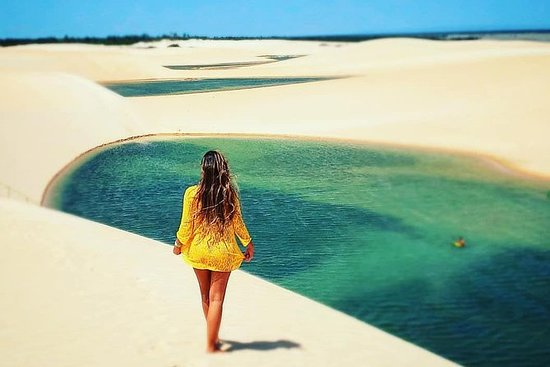 Hilux Tour en la playa de Tatajuba...