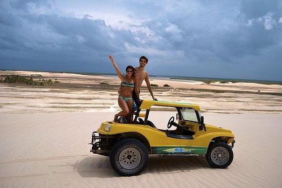 从Jericoacoara到泻湖的越野车之旅