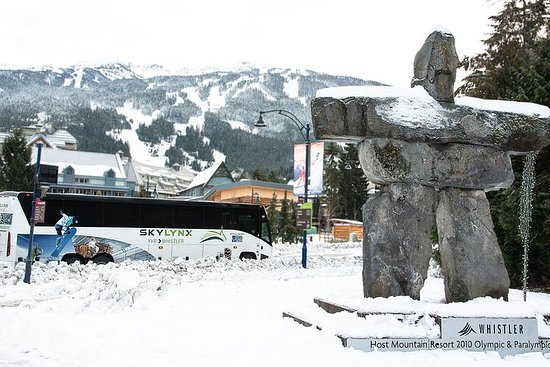 Vancouver Airport to Squamish by Bus (Round trip): Vancouver Airport to Squamish by Bus (Return travel)