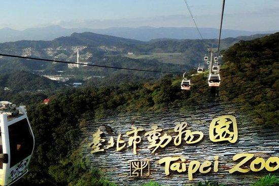 Tour dello zoo di Taipei e della gita