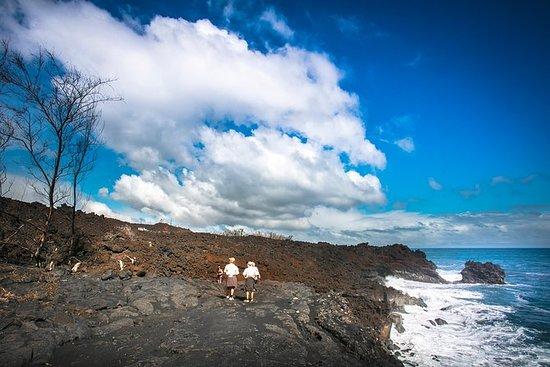 从科纳或柯哈拉出发的火山爆发