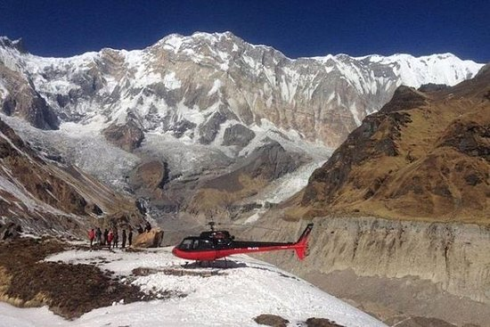 Annapurna Base Camp Helikoptertur