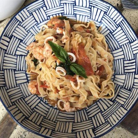 homemade gluten-free fresh tagliatelle pasta