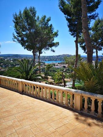 Maritim Hotel Galatzo: View of Paguer in distance