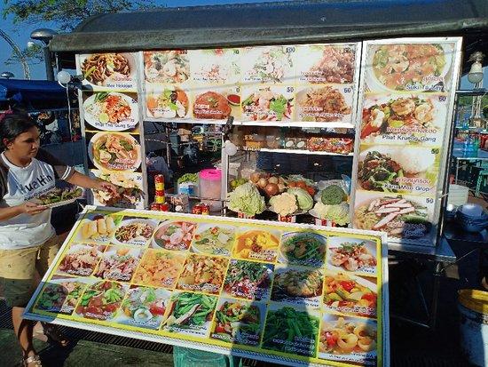 Pak Nam, Thailand: Krabi Night Market