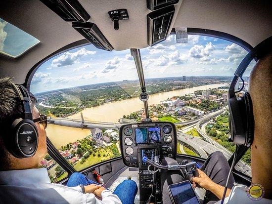Bang Bua Thong, Thaïlande : Sightseeing flight nonthaburi