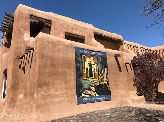 Santa Fe, NM: Side view - NM Museum of Art