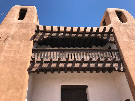 Santa Fe, NM: Striking design - wing of NM Museum of Art.