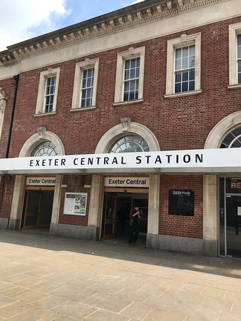 ‪Exeter Central Railway Station‬