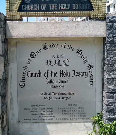 791b19380 Church of the Holy Rosary, Kuala Lumpur - TripAdvisor