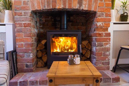 The Secret Garden (Log burner for those cold winter days)