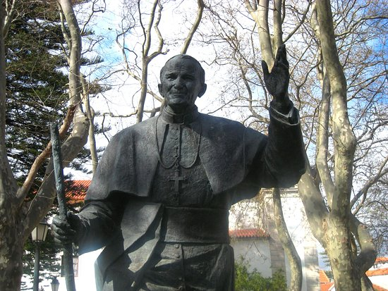 Estatua Papa Joao Paulo II
