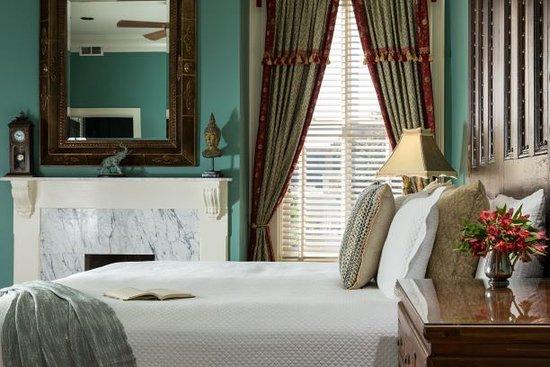 Private Balcony for Pet-Friendly King Size Bedroom – Bild från The Inn on West Liberty, Savannah - Tripadvisor