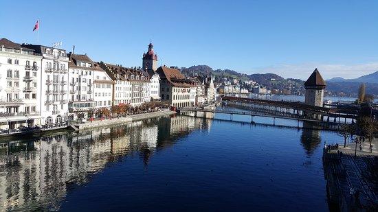 Meride, สวิตเซอร์แลนด์: Sicht auf Luzern von Gusti