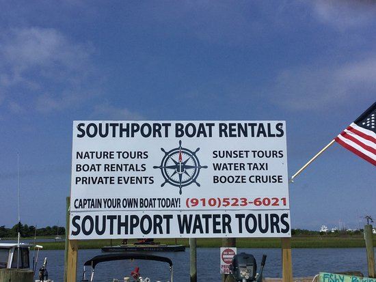 Southport, Carolina del Norte: Get on the water today!