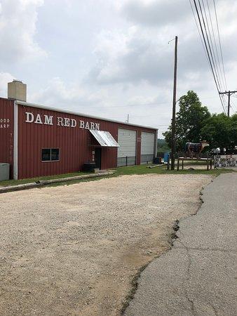 Dam Red Barn