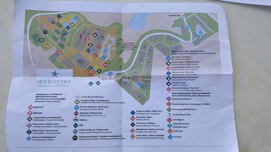 Mapa del Hotel.