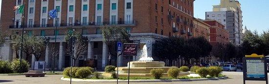 Foggia station fountain