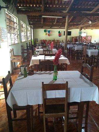 Iguatama: A comida especialmente , ela estava muito saborosa , parabéns...