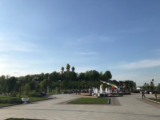 Strelka Fountains