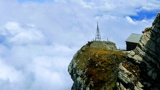 Santis der Berg: Touching the heavens!