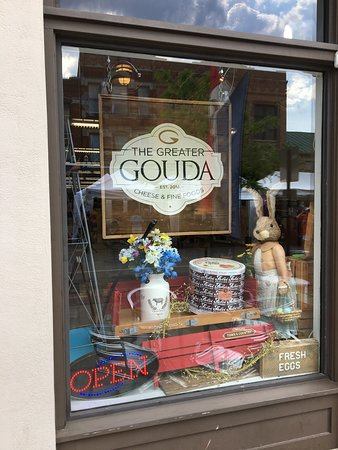 The Greater Gouda: front window