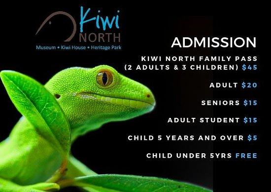 Kiwi North - Kiwi House, Museum & Heritage Park
