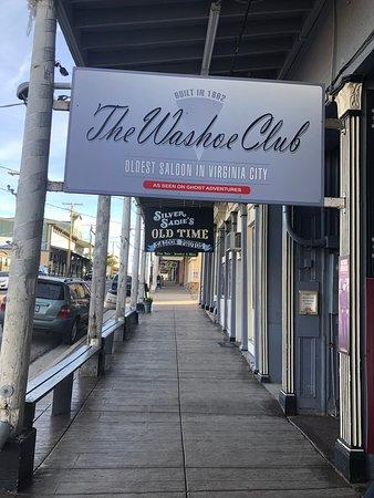Washoe Club, Virginia City