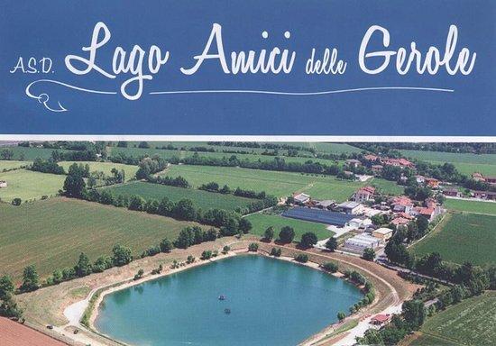 Borgosatollo, Italia: lago amici delle gerole