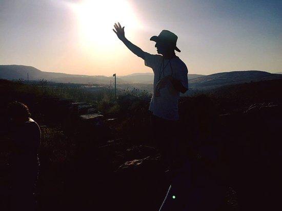 ארבל, ישראל: Arbel mountent near the Sea of Galilee