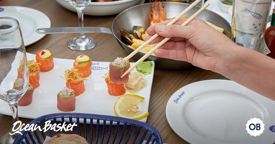 Ocean Basket Rosebank: OB Sushi