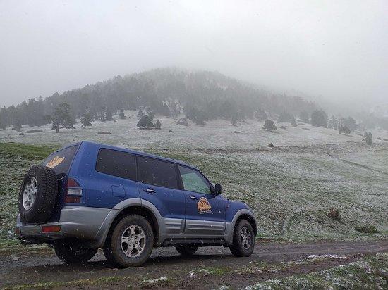 Ruta en 4x4 por el camino de los Contrabandistas que une Andorra y España.